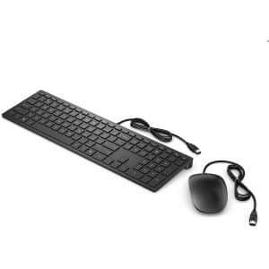Kit mouse e tastiera usb