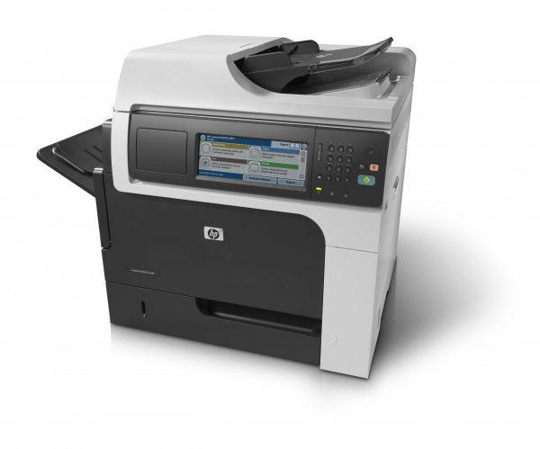 HP M4555 CE503A Laser B/N A4 Fronte Retro Lan Rete MULTIFUNZIONE PARI A NUOVO