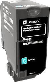 Original Lexmark 75B20C0 Toner ciano
