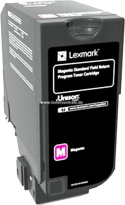 Original Lexmark 75B20M0 Toner magenta