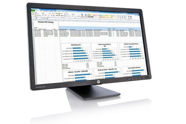MONITOR RICONDIZIONATO HP E231 LCD LED 23 POLLICI FULL HD 1920x1080