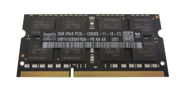 Hynix 8GB PC3-12800 DDR3-1600MHz non-ECC Unbuffered CL11 204-Pin SoDimm 1.35V