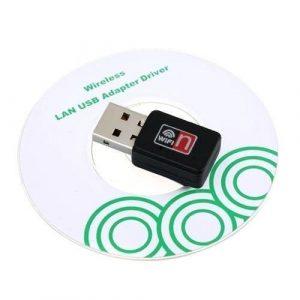 MINI ADATTATORE USB CHIAVETTA RETE WIFI WIRELESS 150Mbps