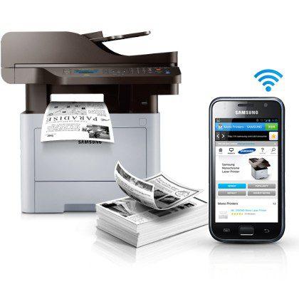 Samsung M4070fr Multifunzione Professionale Bianco e Nero 40 Pagine al Minuto Scanner Duplex automatico Pari al Nuovo