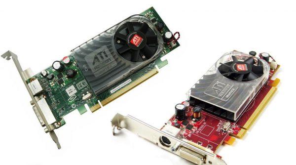 ATI Radeon HD 2400 XT Graphics Card 256Mb GDDR2 PCIe x16 DMS-59/S-VIDEO GFX
