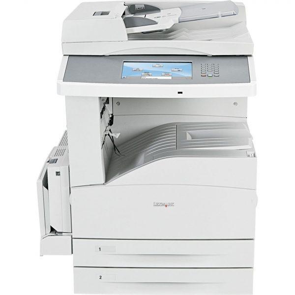 Stampante Multifunzione A3 Lexmark x860de 60ppm USATA COMPRESA BASE E RUOTE