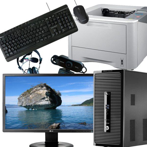 Postazione ufficio completa HP Prodesk 405 G2 MiniTower