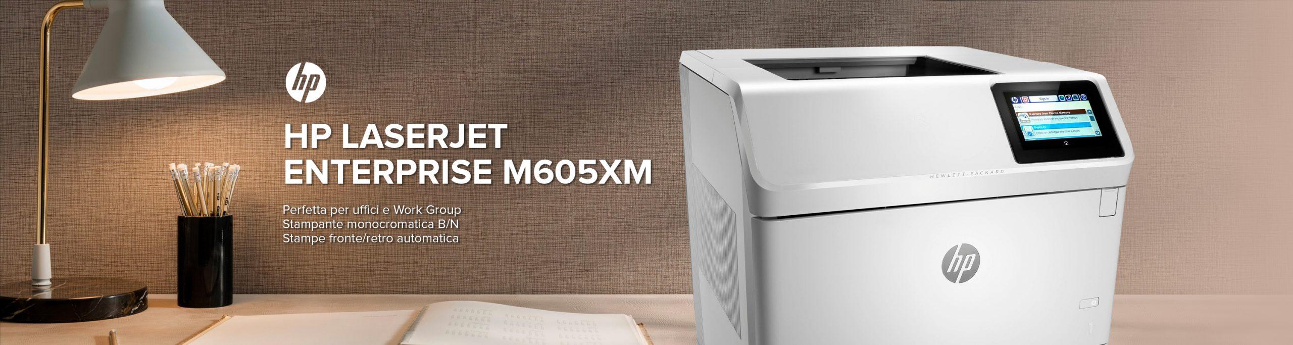 HP LaserJet Enterprise M605xm