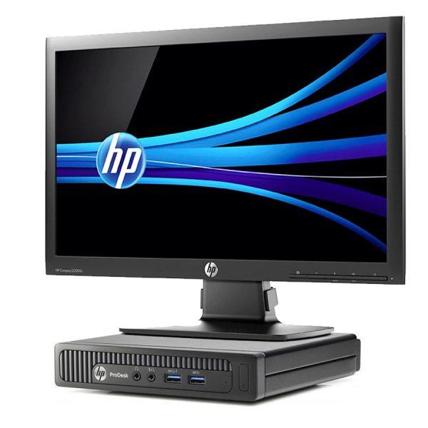 Bundle HP Prodesk 600 g1 DM + Monitor HP Compaq LE2002x