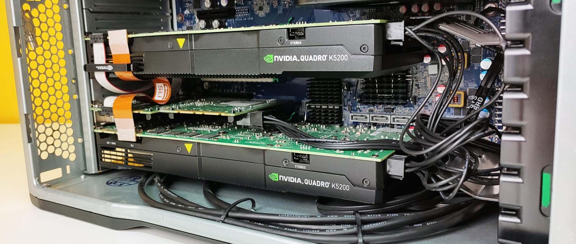 HP Z840 Workstation 2X intel