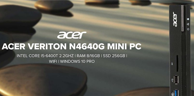 acer N4640G Home